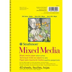 Strathmore 300 Series 5.5 x 8.5 Mixed Media Drawing Pad