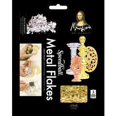 Mona Lisa Metal Flakes Gold