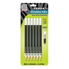 #2 Mechanical Pencil 6-Pack