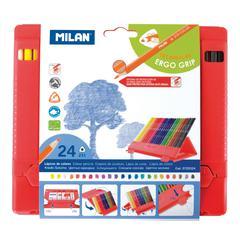 Milan Colored Pencil Flexiboxes 24 Set