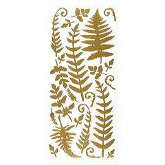 Stickers Gold Fern