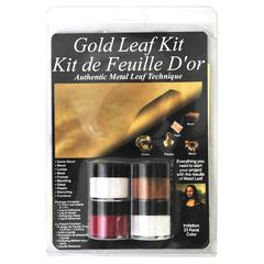 Mona Lisa Metal Leaf Starter Gold Kit