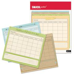 "K & Company SMASH* Pockets 4 Calendar Style 6.5"""