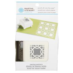 Martha Stewart Crafts Pattern Punch All Over The Page Magnetic Punch Caning
