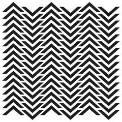 "The Crafter's Workshop 6"" x 6"" Design Template Chevron"