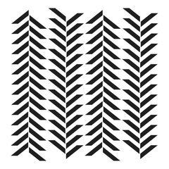 "6"" x 6"" Design Template Herringbone"
