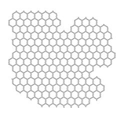 "12"" x 12"" Design Template Chicken Wire"