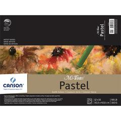 "Canson Mi-Teintes Artist Series 12"" x 16"" Fold Over Bound Pad Earth Tone"