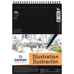 "Canson Artist Series Illustration Wire Bound Pad 9"" x 12"""