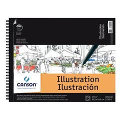 """Canson Artist Series Artist Illustration Wire Bound Pad 14"""" x 17"""""""
