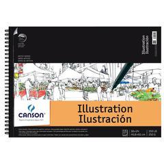 """Artist Illustration Wire Bound Pad 18"""" x 24"""""""