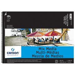 Canson Artist Series ARTIST MIXMEDIA PAD 20sh 18x24