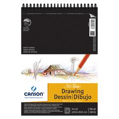"Artist Series Wire-Bound Drawing Pads 9"" x 12"""