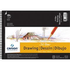"""Canson Mi-Teintes Artist Series Artist Series Wire-Bound Drawing Pads 12""""x16"""""""