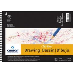 "Artist Series Wire-Bound Drawing Pads 12"" x 16"""
