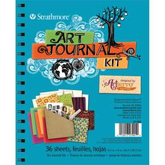 Turquoise Art Journal Kit