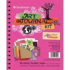 Hot Pink Art Journal Kit