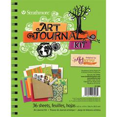 Strathmore Lime Green Art Journal Kit