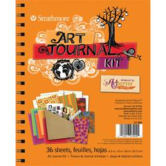 Orange Art Journal Kit
