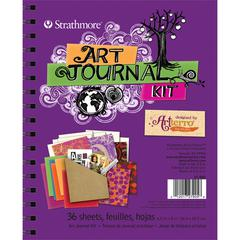 Purple Art Journal Kit