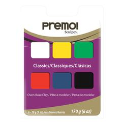 Sculpey Polymer Clay Classic 6-Color Set