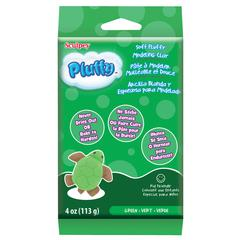 Sculpey Pluffy 4 oz. Oven Bake Clay Green