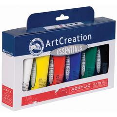 Acrylic 75ml 6-Color Set