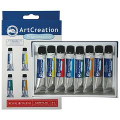 Royal Talens ArtCreation Expressions Acrylic 8-Color Set