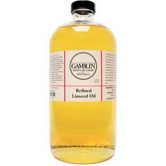 Gamblin Refined Linseed Oil 32oz
