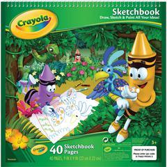 """9"""" x 9"""" Sketchbook 40 Sheets"""