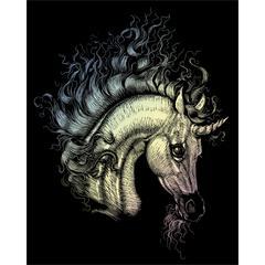 Engraving Art Set Unicorn