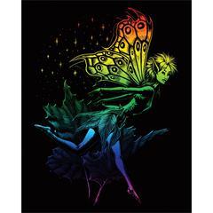 Engraving Art Set Rainbow Fairy