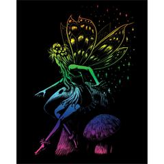 Engraving Art Set Rainbow Fairy Princess