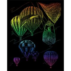 Royal & Langnickel Engraving Art Set Rainbow Hot Air Balloon