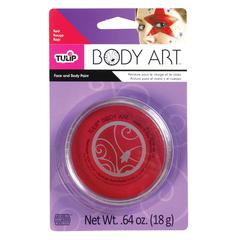 Tulip Body Art Red Paint