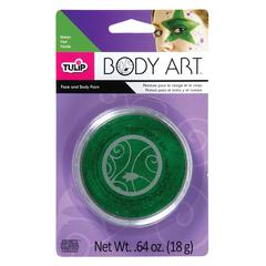 Tulip Body Art Green Paint
