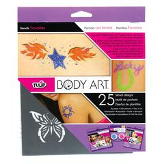 Tulip Body Art Stencil Pack Favorites