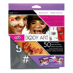 Tulip Body Art Stencil Pack Sports