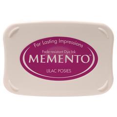 Memento Full Size Dye Ink Pad Lilac Posies