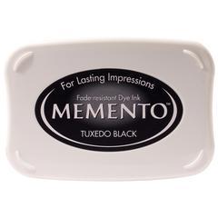 Full Size Dye Ink Pad Tuxedo Black