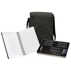 Graphite Sketching Satchel Art Set