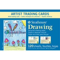 Recycled Drawing Artist Trading Cards For Kids