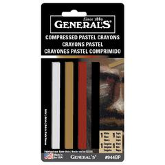 General's Compressed Pastel Crayon Set