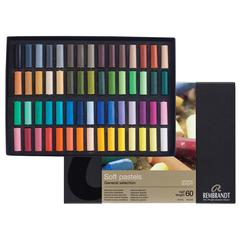 Pastel 60-Color Half-Stick Set