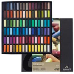 Pastel 90-Color Half-Stick Set