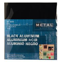 Creative Metal Sheets Black Aluminum