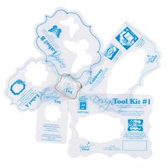 Hot Off the Press Design Tool Kit Template Set 1