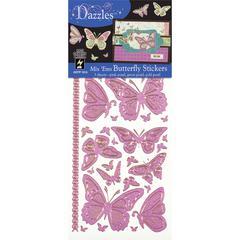 Mixems Outline Sticker Pack Butterflies