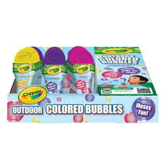 Outdoor Colored Bubbles 15-Piece Counter Display