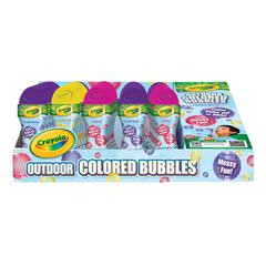 Outdoor Colored Bubbles 30-Piece Counter Display